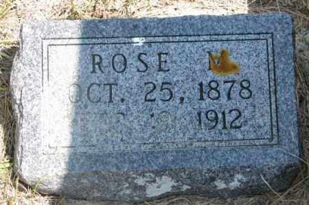 SELLON, ROSE M. - Cedar County, Nebraska | ROSE M. SELLON - Nebraska Gravestone Photos