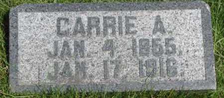 SEVERSON, CARRIE A. - Cedar County, Nebraska | CARRIE A. SEVERSON - Nebraska Gravestone Photos