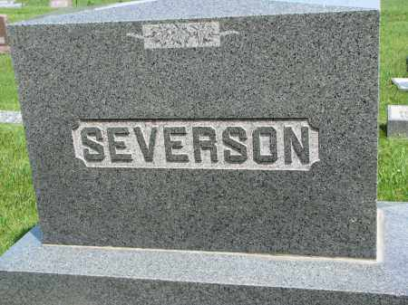 SEVERSON, FAMILY STONE - Cedar County, Nebraska | FAMILY STONE SEVERSON - Nebraska Gravestone Photos