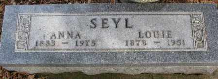 SEYL, LOUIE - Cedar County, Nebraska | LOUIE SEYL - Nebraska Gravestone Photos