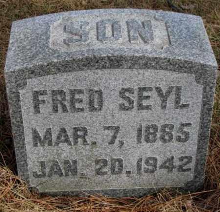 SEYL, FRED - Cedar County, Nebraska | FRED SEYL - Nebraska Gravestone Photos