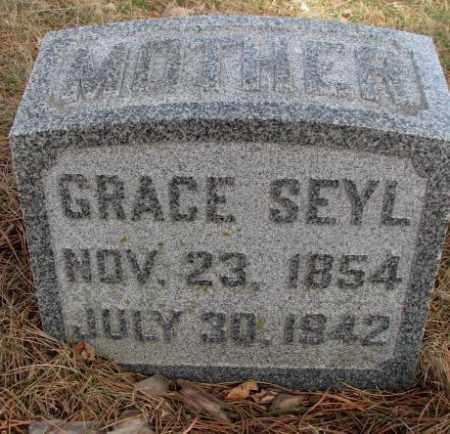SEYL, GRACE - Cedar County, Nebraska | GRACE SEYL - Nebraska Gravestone Photos