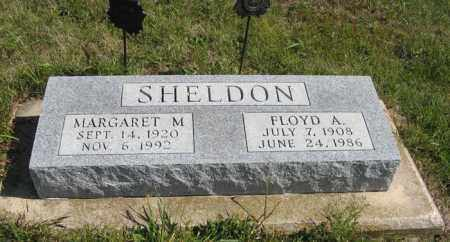 SHELDON, MARGARET M. - Cedar County, Nebraska | MARGARET M. SHELDON - Nebraska Gravestone Photos