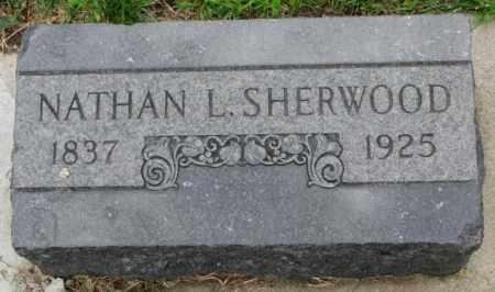 SHERWOOD, NATHAN L. - Cedar County, Nebraska | NATHAN L. SHERWOOD - Nebraska Gravestone Photos