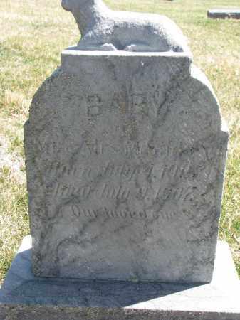 SINKEY, BABY - Cedar County, Nebraska | BABY SINKEY - Nebraska Gravestone Photos