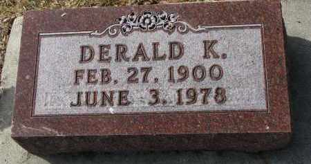 SMITH, DERALD K. - Cedar County, Nebraska   DERALD K. SMITH - Nebraska Gravestone Photos