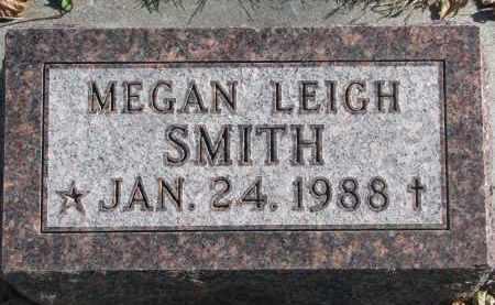 SMITH, MEGAN LEIGH - Cedar County, Nebraska | MEGAN LEIGH SMITH - Nebraska Gravestone Photos