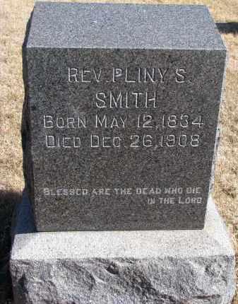 SMITH, PLINY S. (REV.) - Cedar County, Nebraska | PLINY S. (REV.) SMITH - Nebraska Gravestone Photos