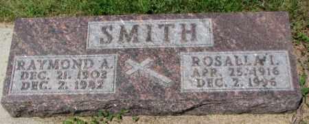 SMITH, ROSALLA I. - Cedar County, Nebraska   ROSALLA I. SMITH - Nebraska Gravestone Photos