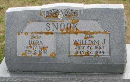 SNOOK, WILLIAM J. - Cedar County, Nebraska | WILLIAM J. SNOOK - Nebraska Gravestone Photos