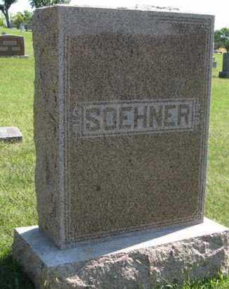 SOEHNER, FAMILY - Cedar County, Nebraska | FAMILY SOEHNER - Nebraska Gravestone Photos