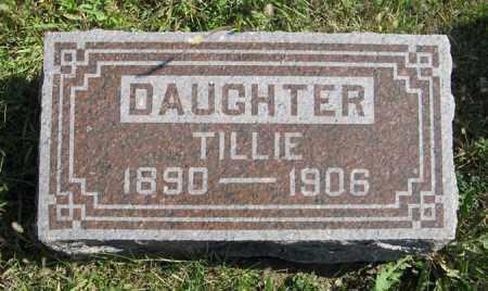 SOEHNER, TILLIE - Cedar County, Nebraska   TILLIE SOEHNER - Nebraska Gravestone Photos