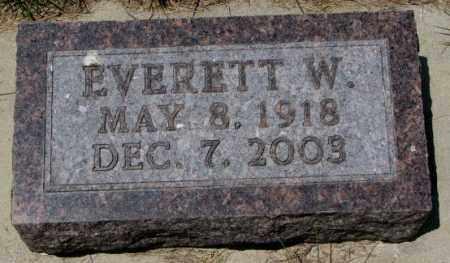 SOHREN, EVERETT W. - Cedar County, Nebraska   EVERETT W. SOHREN - Nebraska Gravestone Photos
