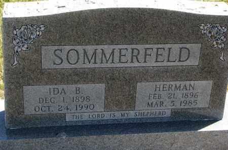 SOMMERFELD, HERMAN - Cedar County, Nebraska | HERMAN SOMMERFELD - Nebraska Gravestone Photos