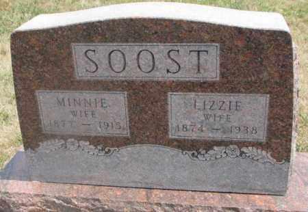 SOOST, LIZZIE - Cedar County, Nebraska   LIZZIE SOOST - Nebraska Gravestone Photos