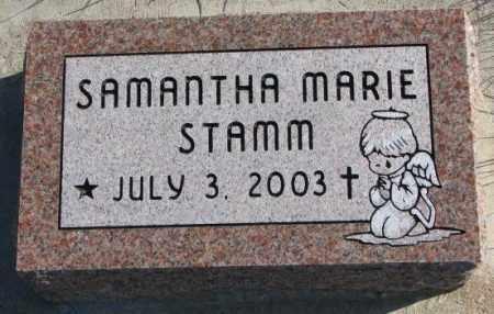 STAMM, SAMANTHA MARIE - Cedar County, Nebraska | SAMANTHA MARIE STAMM - Nebraska Gravestone Photos