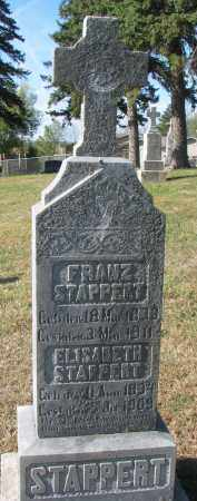 STAPPERT, FRANZ - Cedar County, Nebraska | FRANZ STAPPERT - Nebraska Gravestone Photos
