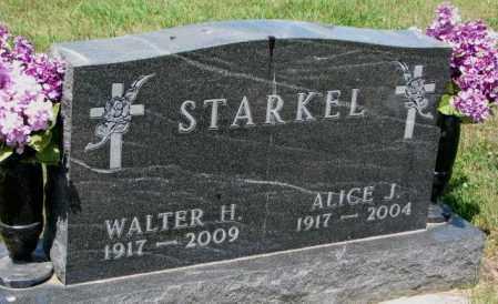 STARKEL, ALICE J. - Cedar County, Nebraska | ALICE J. STARKEL - Nebraska Gravestone Photos
