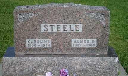 STEELE, ELMER P - Cedar County, Nebraska | ELMER P STEELE - Nebraska Gravestone Photos