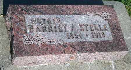 STEELE, HARRIET A - Cedar County, Nebraska | HARRIET A STEELE - Nebraska Gravestone Photos