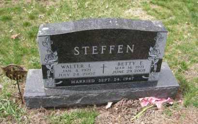 STEFFEN, WALTER - Cedar County, Nebraska | WALTER STEFFEN - Nebraska Gravestone Photos