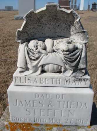 STEFFEN, ELISABETH MARY - Cedar County, Nebraska | ELISABETH MARY STEFFEN - Nebraska Gravestone Photos
