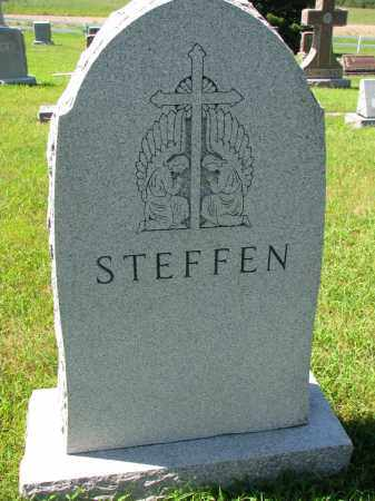 STEFFEN, FAMILY STONE - Cedar County, Nebraska | FAMILY STONE STEFFEN - Nebraska Gravestone Photos