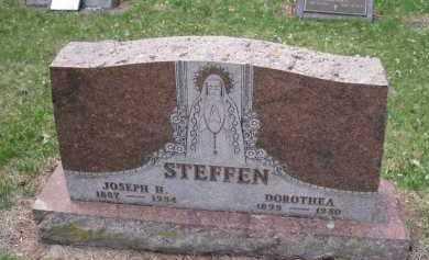 STEFFEN, JOSEPH - Cedar County, Nebraska   JOSEPH STEFFEN - Nebraska Gravestone Photos