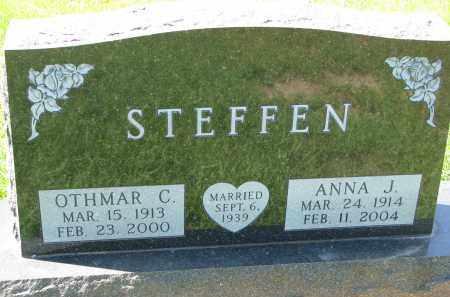 STEFFEN, OTHMAR C. - Cedar County, Nebraska | OTHMAR C. STEFFEN - Nebraska Gravestone Photos