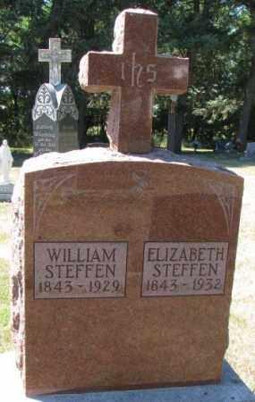 STEFFEN, WILLIAM - Cedar County, Nebraska | WILLIAM STEFFEN - Nebraska Gravestone Photos