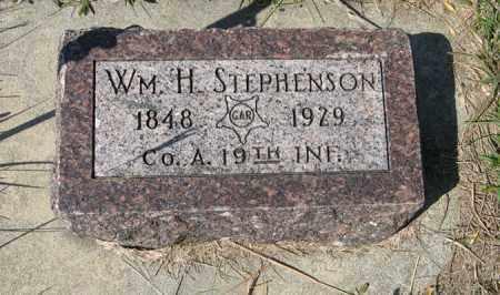 STEPHENSON, WM. H. - Cedar County, Nebraska | WM. H. STEPHENSON - Nebraska Gravestone Photos