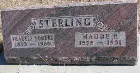 STERLING, MAUDE E. - Cedar County, Nebraska | MAUDE E. STERLING - Nebraska Gravestone Photos