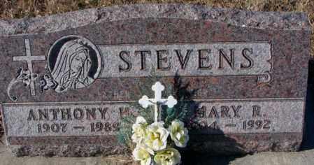 STEVENS, ANTHONY H. - Cedar County, Nebraska   ANTHONY H. STEVENS - Nebraska Gravestone Photos