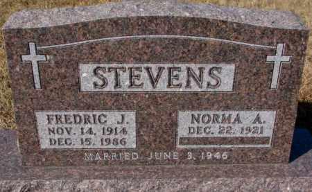STEVENS, FREDRIC J. - Cedar County, Nebraska | FREDRIC J. STEVENS - Nebraska Gravestone Photos