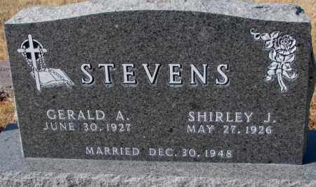 STEVENS, GERALD A. - Cedar County, Nebraska | GERALD A. STEVENS - Nebraska Gravestone Photos