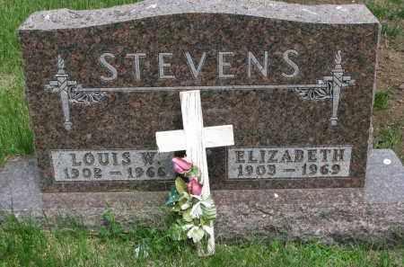 STEVENS, ELIZABETH - Cedar County, Nebraska | ELIZABETH STEVENS - Nebraska Gravestone Photos