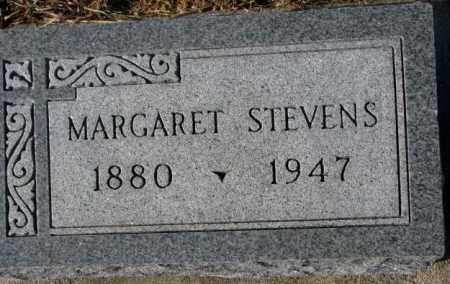 STEVENS, MARGARET - Cedar County, Nebraska   MARGARET STEVENS - Nebraska Gravestone Photos