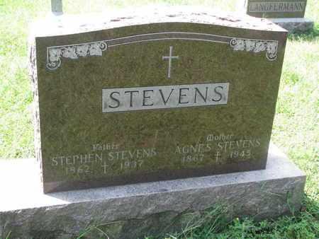 STEVENS, AGNES - Cedar County, Nebraska   AGNES STEVENS - Nebraska Gravestone Photos