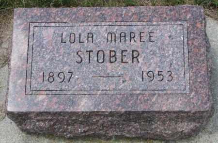 STOBER, LOLA MAREE - Cedar County, Nebraska | LOLA MAREE STOBER - Nebraska Gravestone Photos