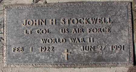 STOCKWELL, JOHN H. (WW II) - Cedar County, Nebraska | JOHN H. (WW II) STOCKWELL - Nebraska Gravestone Photos