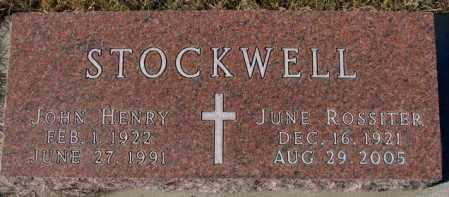STOCKWELL, JOHN HENRY - Cedar County, Nebraska | JOHN HENRY STOCKWELL - Nebraska Gravestone Photos