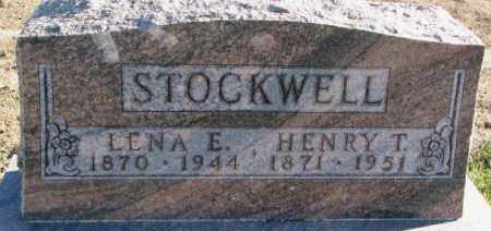STOCKWELL, LENA E. - Cedar County, Nebraska   LENA E. STOCKWELL - Nebraska Gravestone Photos