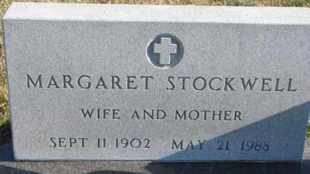 STOCKWELL, MARGARET - Cedar County, Nebraska | MARGARET STOCKWELL - Nebraska Gravestone Photos