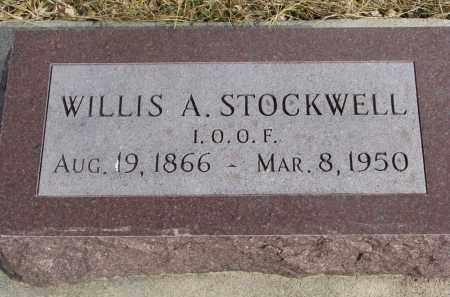 STOCKWELL, WILLIS A. - Cedar County, Nebraska   WILLIS A. STOCKWELL - Nebraska Gravestone Photos