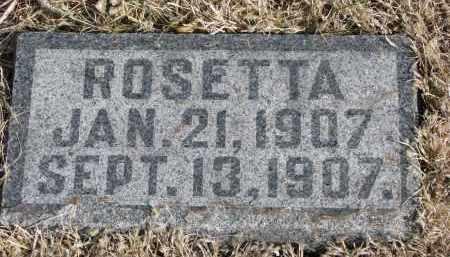STRANZ, ROSETTA - Cedar County, Nebraska   ROSETTA STRANZ - Nebraska Gravestone Photos