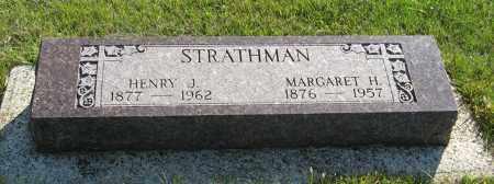 STRATHMAN, MARGARET H. - Cedar County, Nebraska | MARGARET H. STRATHMAN - Nebraska Gravestone Photos