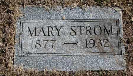 STROM, MARY - Cedar County, Nebraska | MARY STROM - Nebraska Gravestone Photos