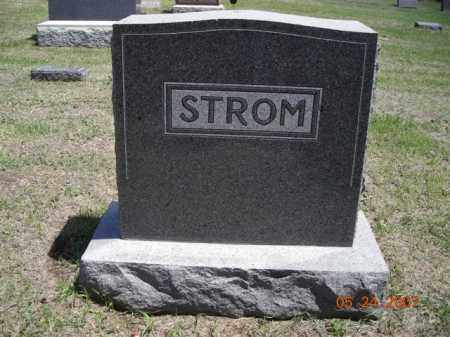 STROM, NELS, AMANDA AND CARL - Cedar County, Nebraska | NELS, AMANDA AND CARL STROM - Nebraska Gravestone Photos