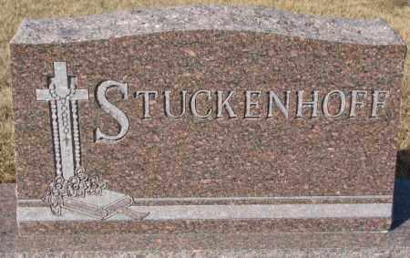 STUCKENHOFF, PLOT - Cedar County, Nebraska   PLOT STUCKENHOFF - Nebraska Gravestone Photos