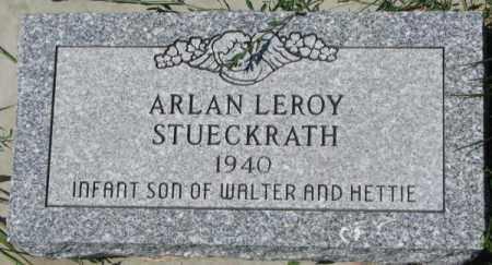 STUECKRATH, ARLAN LEROY - Cedar County, Nebraska | ARLAN LEROY STUECKRATH - Nebraska Gravestone Photos
